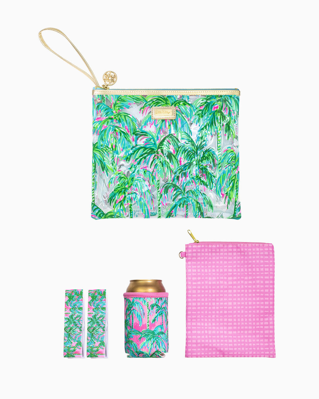Lilly Pulitzer Beach Day Pouch, Suite Views - Monogram Market