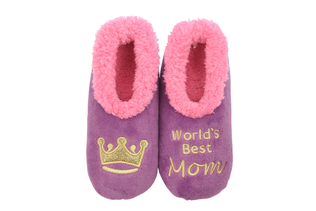 Snoozies! Simply Pairables - World's Best Mom - Monogram Gifts