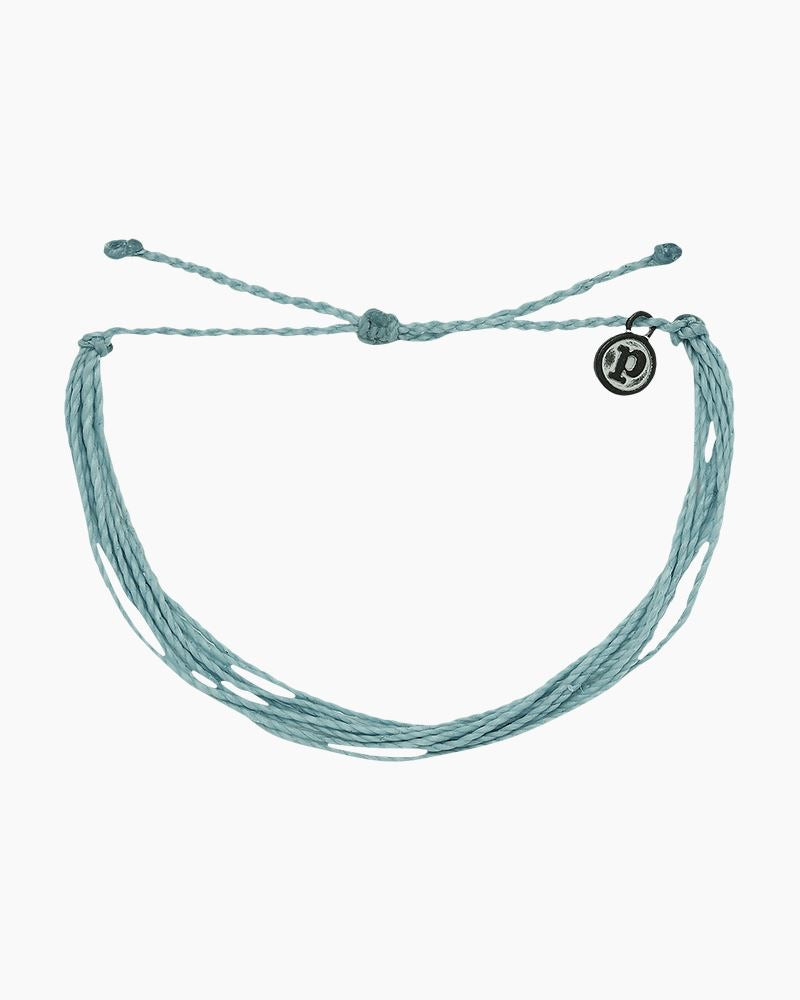 PuraVida Bright Original Bracelet, Smoke Blue - Monogram Market