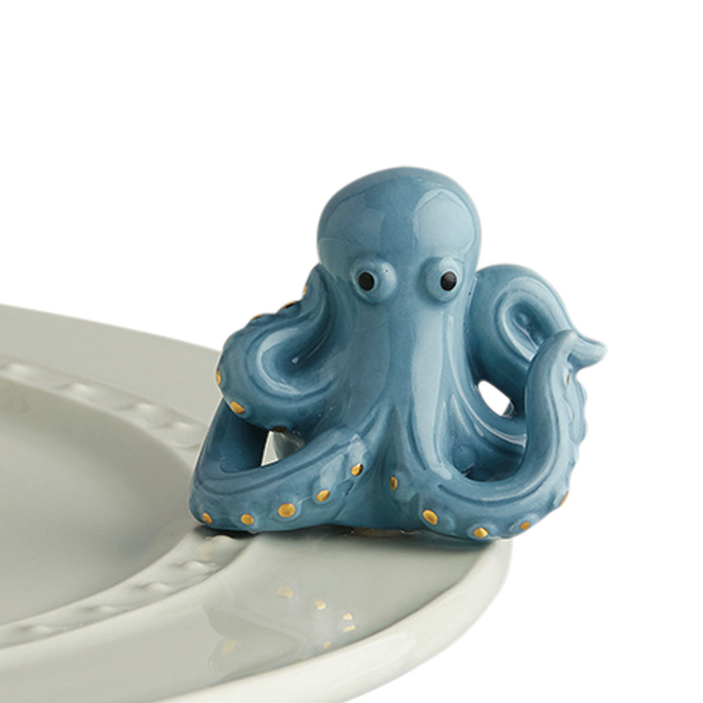 Nora Fleming Under the Sea, Octopus Mini - Monogram Gifts