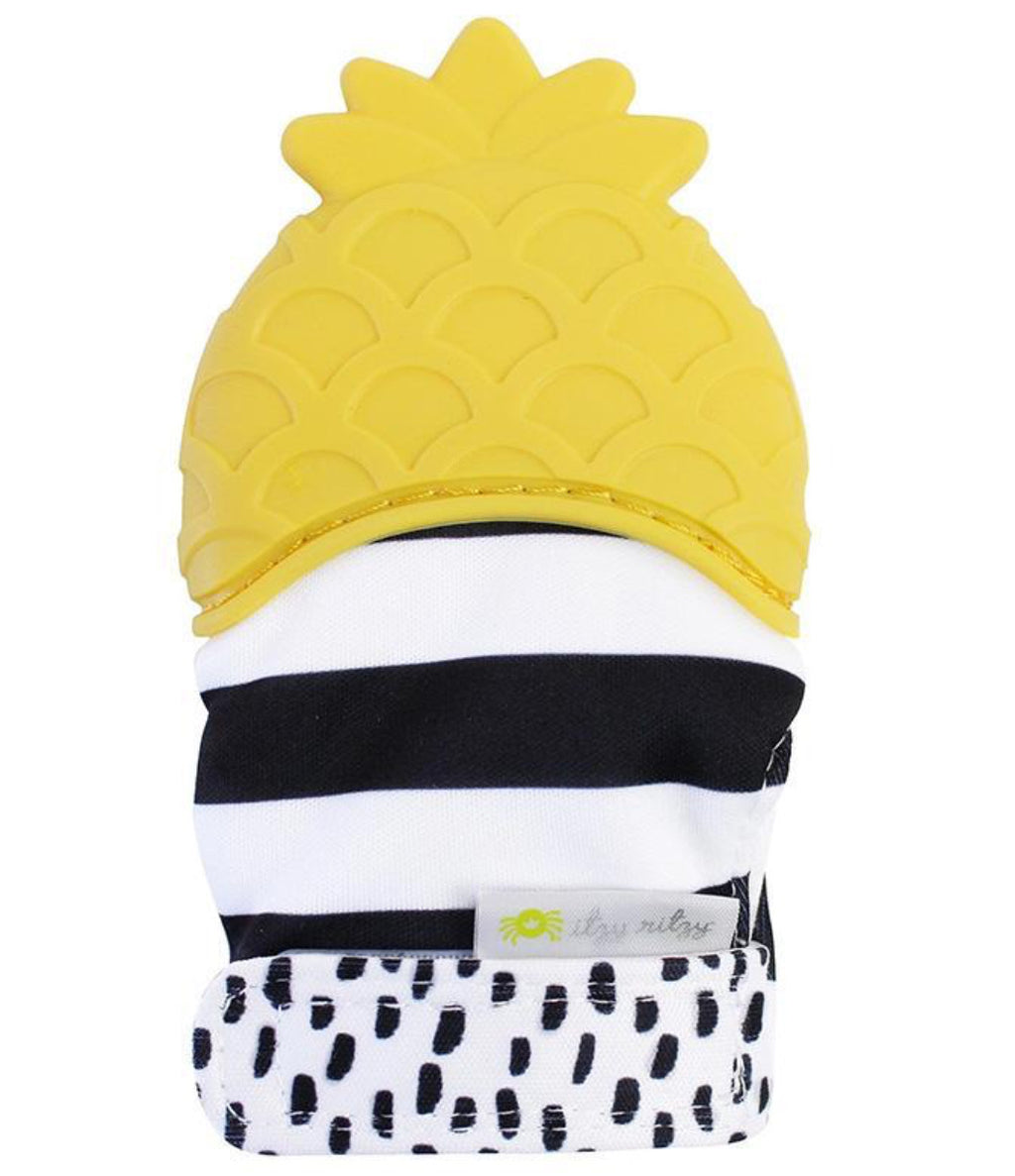 Itzy Ritzy - Itzy Mitt™ Silicone Teething Mitts - Monogram Gifts