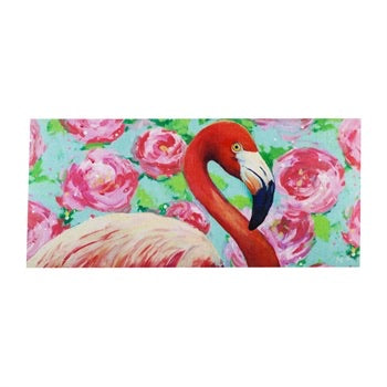 Floral Flamingo Sassafras Switch Mat - Monogram Gifts