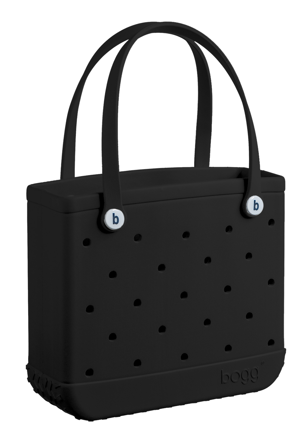 Baby Bogg Bag - Small Tote, Black - Monogram Market