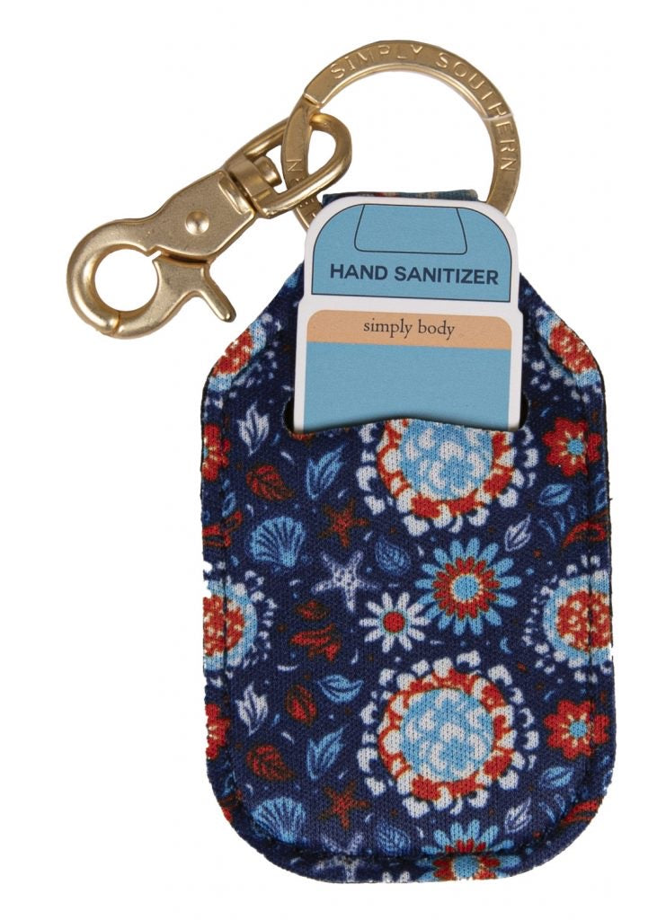 Simply Southern Sanitizer Keychain Holder - NEW - Monogram Market