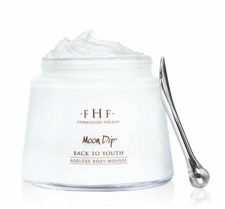 Farmhouse Fresh Moon Dip - Back to Youth Ageless Body Mousse - Monogram Gifts