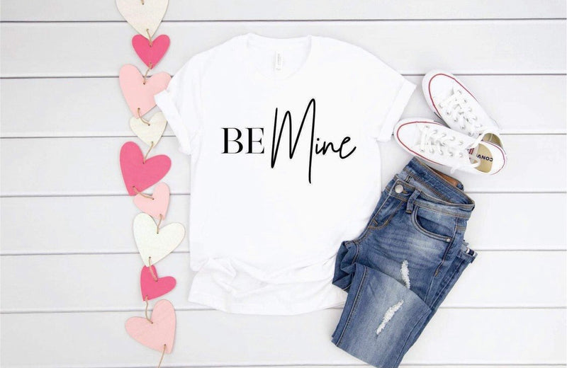 Be Mine, printed tee - Monogram Market