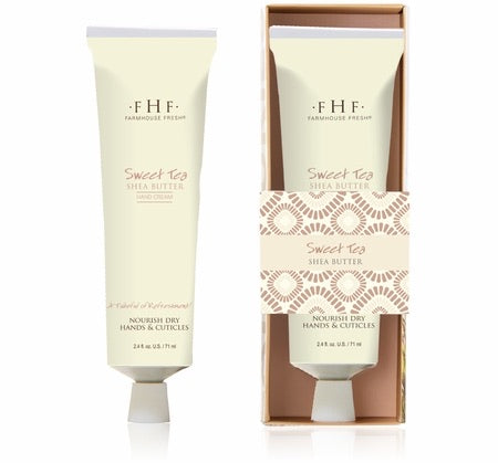 Farmhouse Fresh Sweet Tea, Shea Butter, Hand Cream - Monogram Gifts