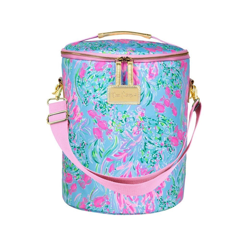 Lilly Pulitzer Beach Cooler, Best Fishes - Monogram Market