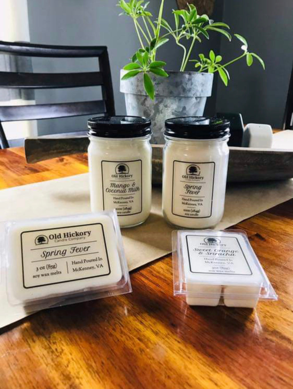 Old Hickory Wax Melts - Monogram Gifts