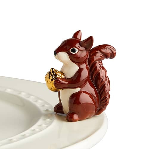 Nora Fleming Mr. Squirrel, Mini - Monogram Gifts