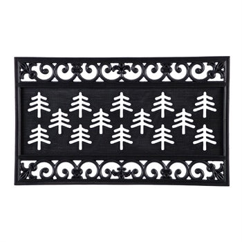 Fleur Scroll Coir KENSINGTON Switch Mat Tray - Monogram Gifts
