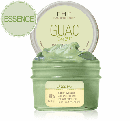 Farmhouse Fresh Guac Star Soothing Avocado Hydration Mask - Monogram Gifts