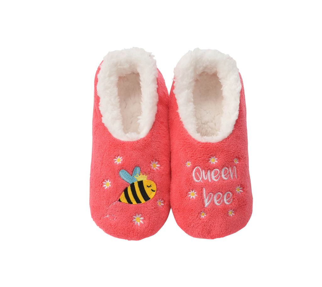 Snoozies!  Simply Pairables - Queen Bee - Monogram Market