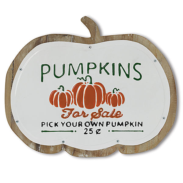 Pumpkins Wall Sign