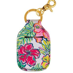 Simply Southern Sanitizer Keychain Holder - Monogram Gifts