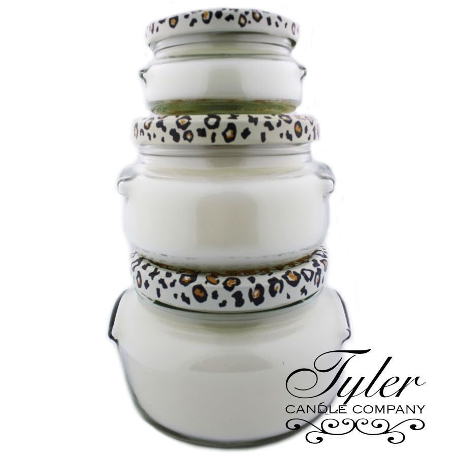 Tyler Candle, Platinum - Monogram Gifts
