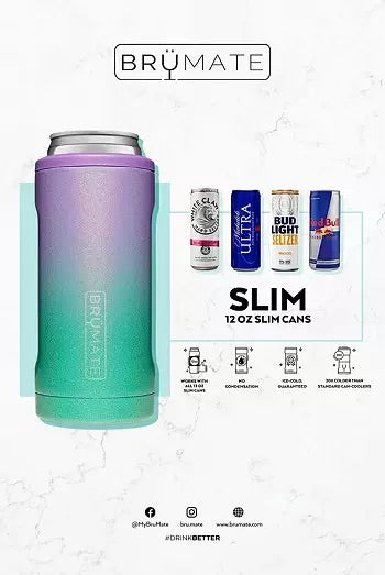 BrüMate Hopsulator Slim Can Cooler, OD Green - Monogram Market