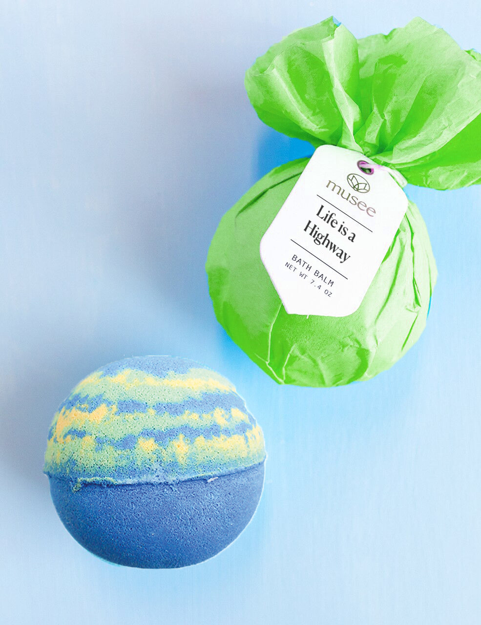 Musee Bath Bomb - Life is a Highway - Monogram Gifts