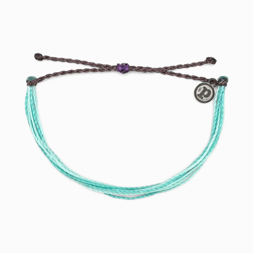 PuraVida,  Original Bracelet, Midnight Waves - Monogram Gifts