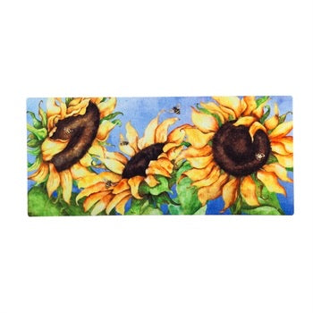Hello Honey Sunflowers Sassafras Switch Mat - Monogram Gifts