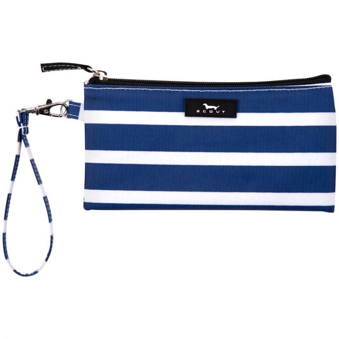 SCOUT Kate Wristlet, Nantucket Navy - Monogram Market