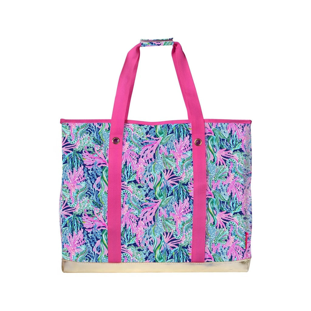 Lilly Pulitzer Ultimate Carry All, Bringing Mermaid Back - Monogram Gifts