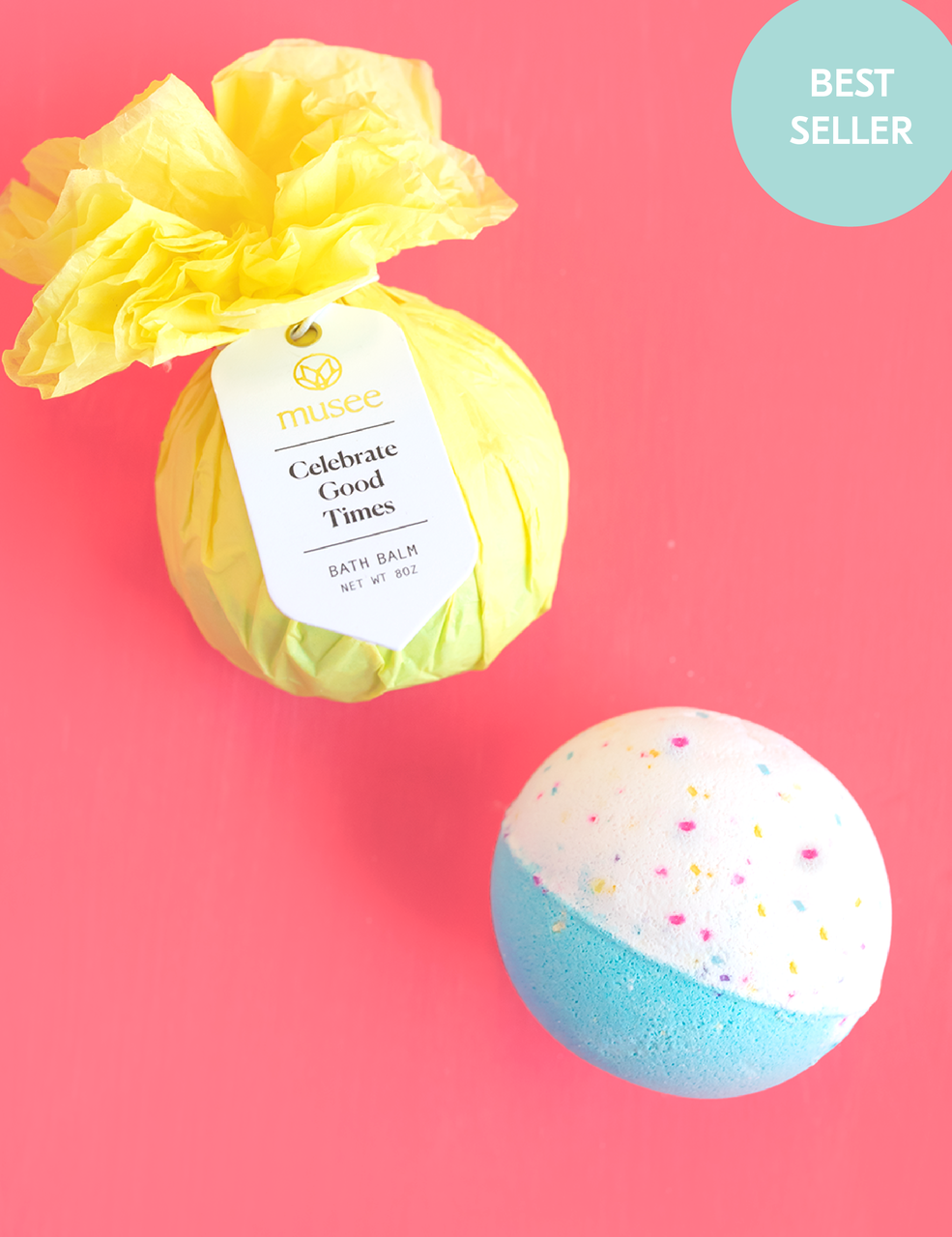 Musee Bath Bomb - Celebrate Good Times - Monogram Gifts