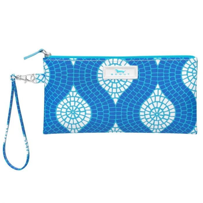 SCOUT Kate Wristlet, Sweet Tile of Mine - Monogram Market