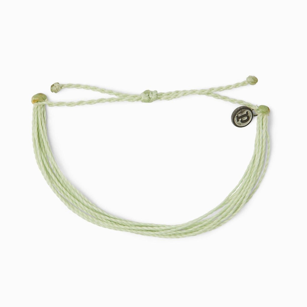 PuraVida,  Original Bracelet, Mint - Monogram Gifts