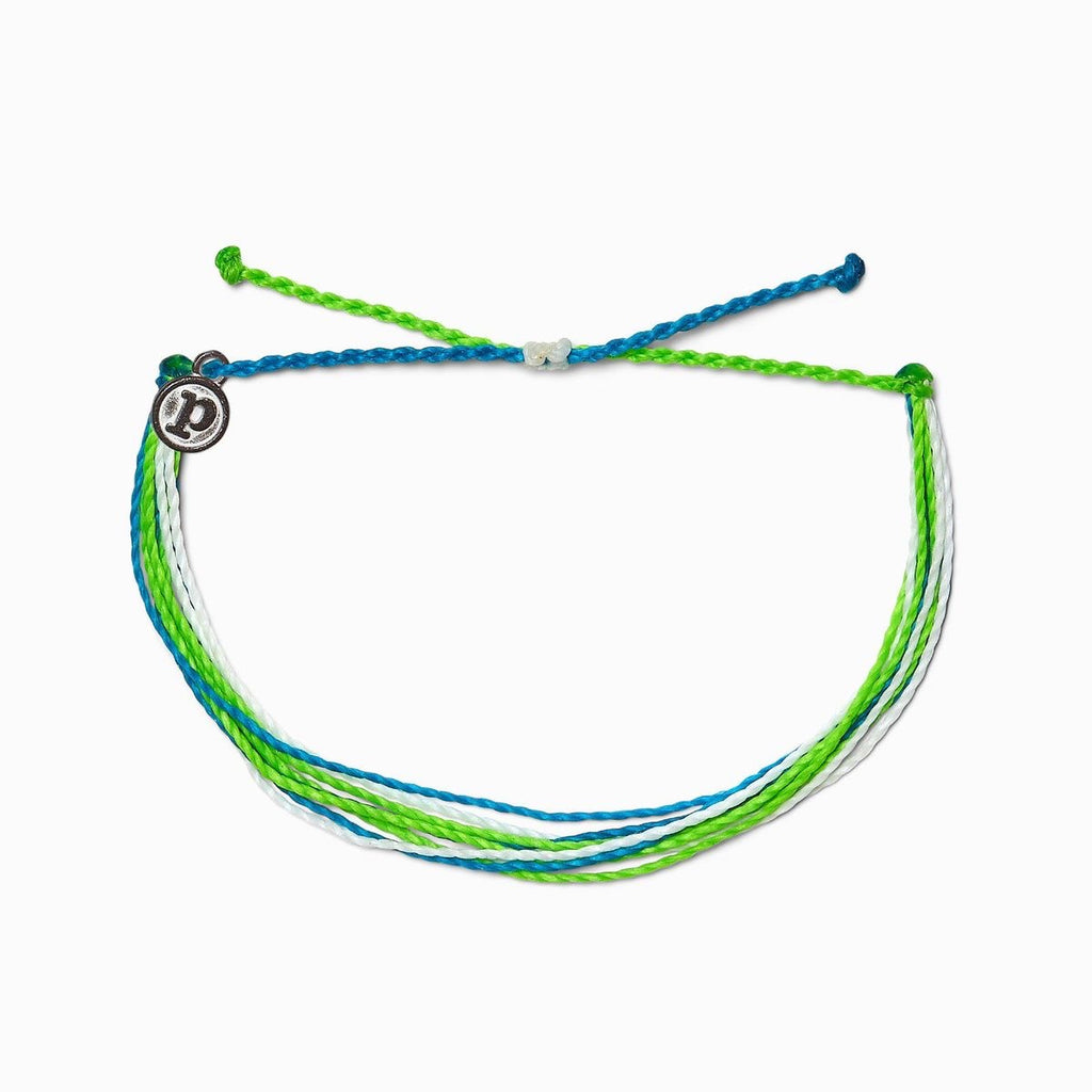 PuraVida,  Original Bracelet, Electric Waves - Monogram Gifts