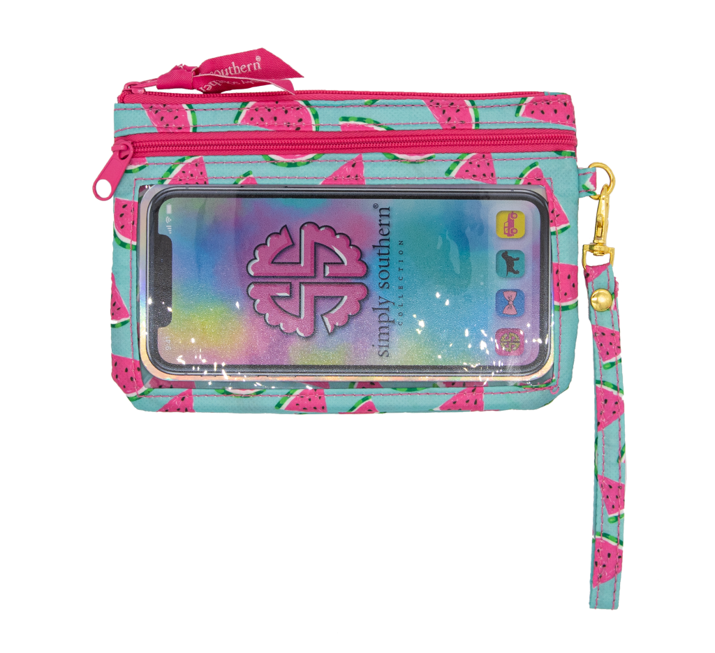 NEW Simply Southern Phone Wristlet - Monogram Market