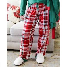Alpine Plaid Sleep Pants - Monogram Gifts