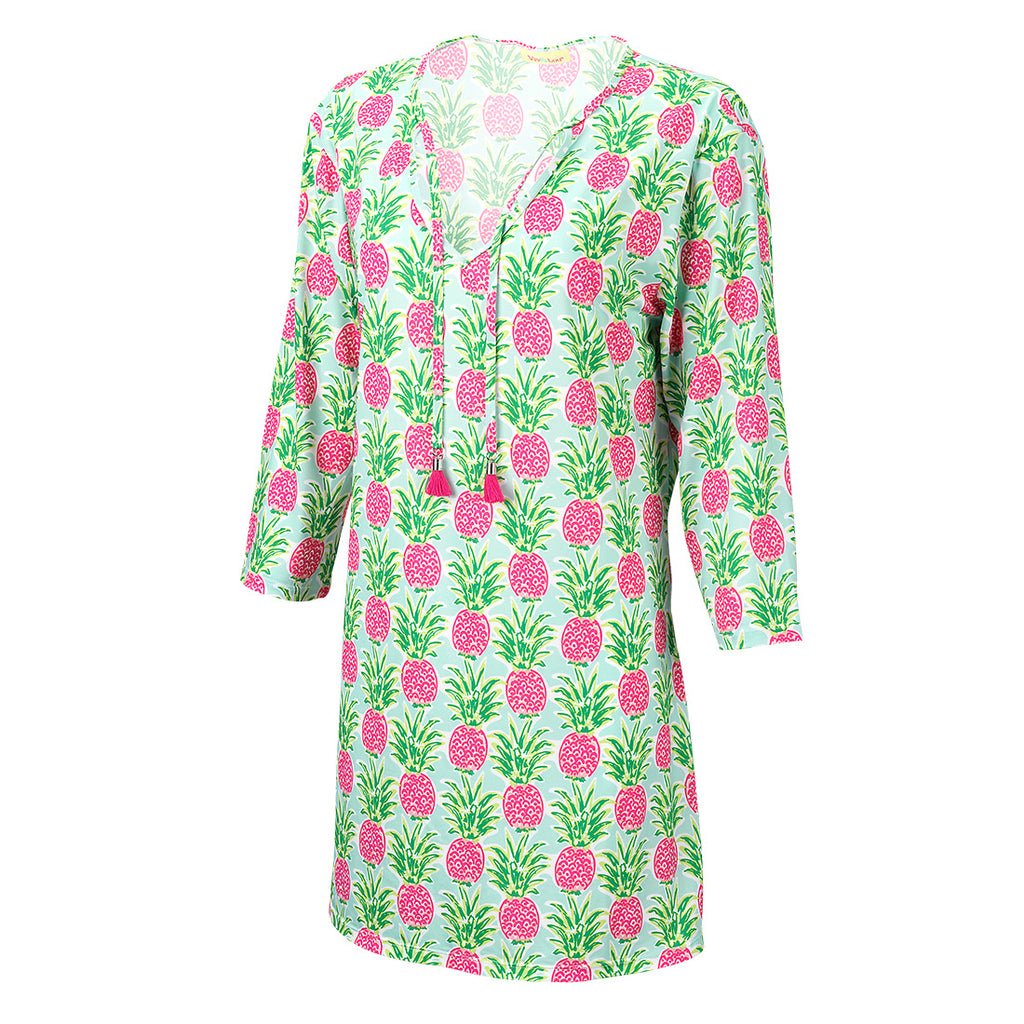 Beach Tunic / Cover Up, Pineapple - Monogram Market