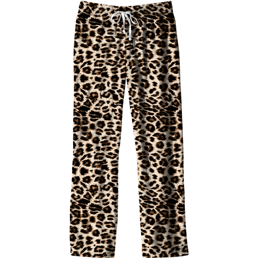 Southern Couture Lounge Pants, Leopard - Monogram Market