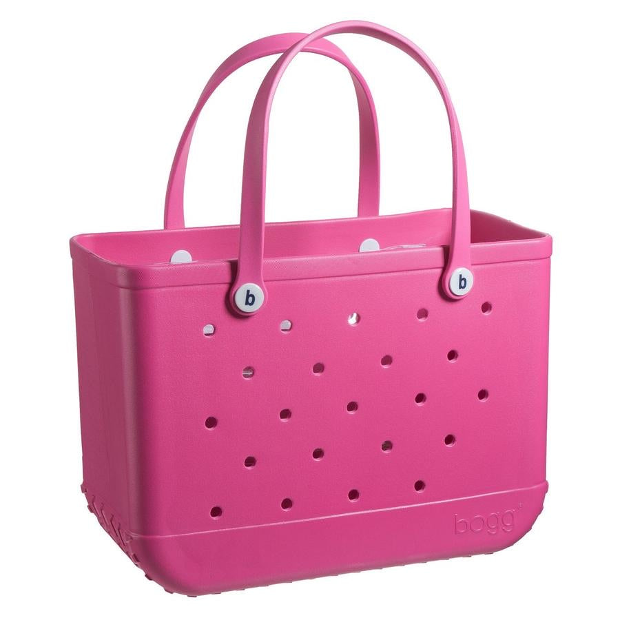 Original Bogg Bag - Large Tote, HOT PINK - Monogram Market