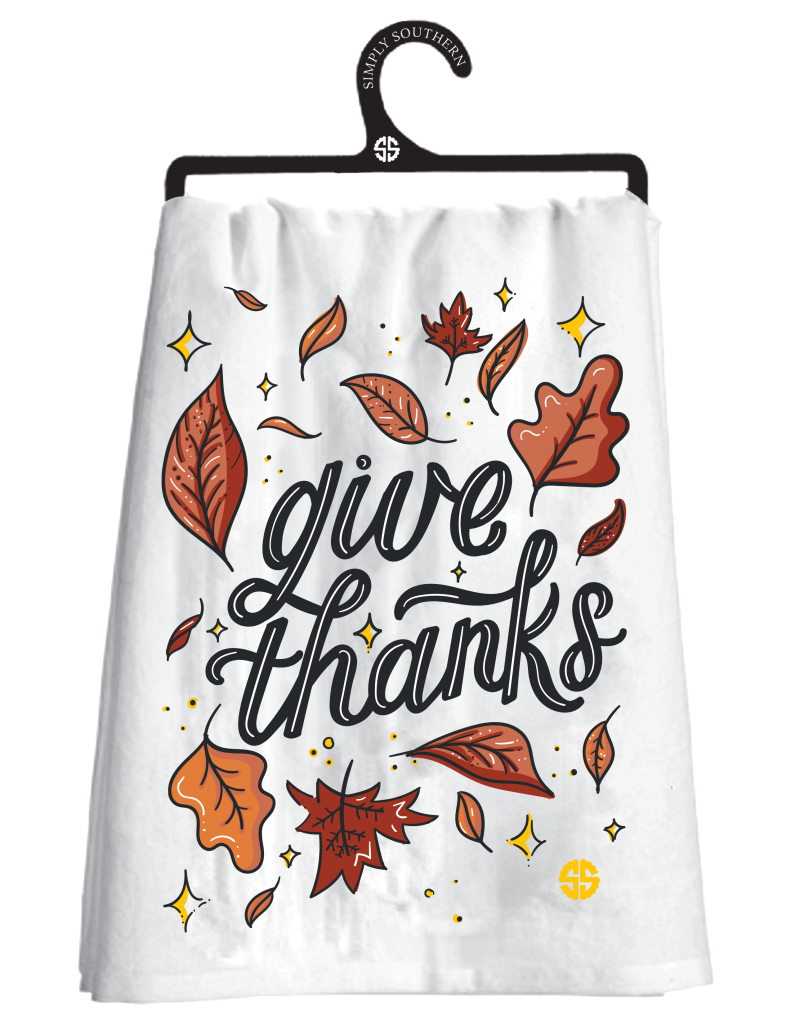 Simply Southern Fall Dish Towels - Monogram Gifts