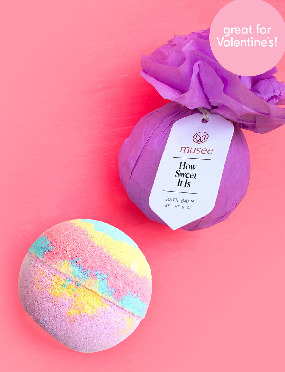 Musee Bath Bomb - How Sweet It Is - Monogram Market