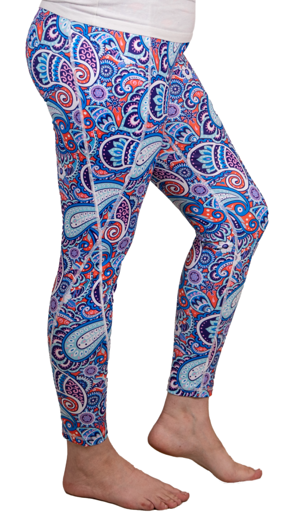 Simply Southern Sport Leggings, Paisley - Monogram Gifts
