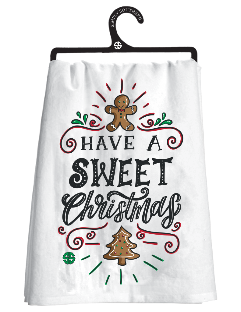 Simply Southern Holiday Dish Towels - Monogram Gifts