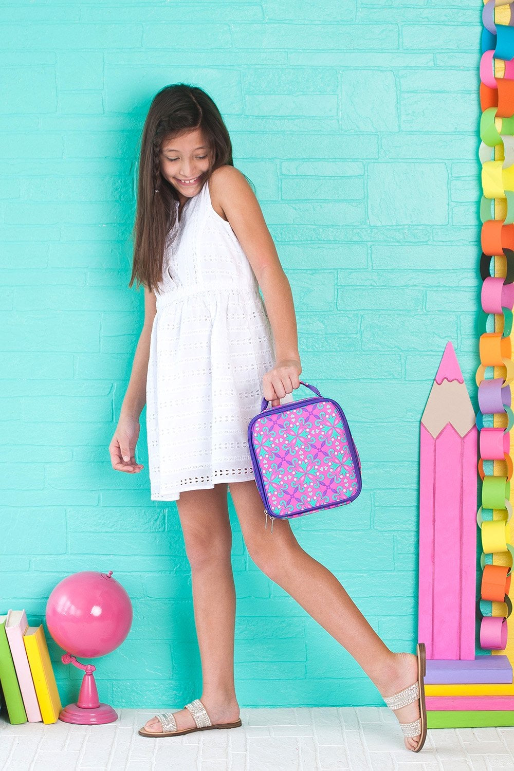 Lila Lunch Box - Monogram Gifts