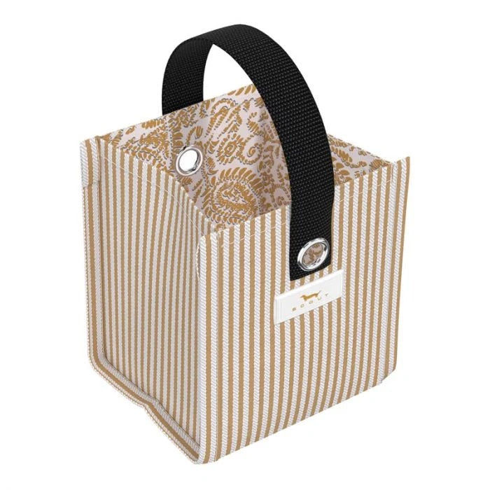 SCOUT Mini Package Gift Bag, Fizz the Season - Monogram Gifts