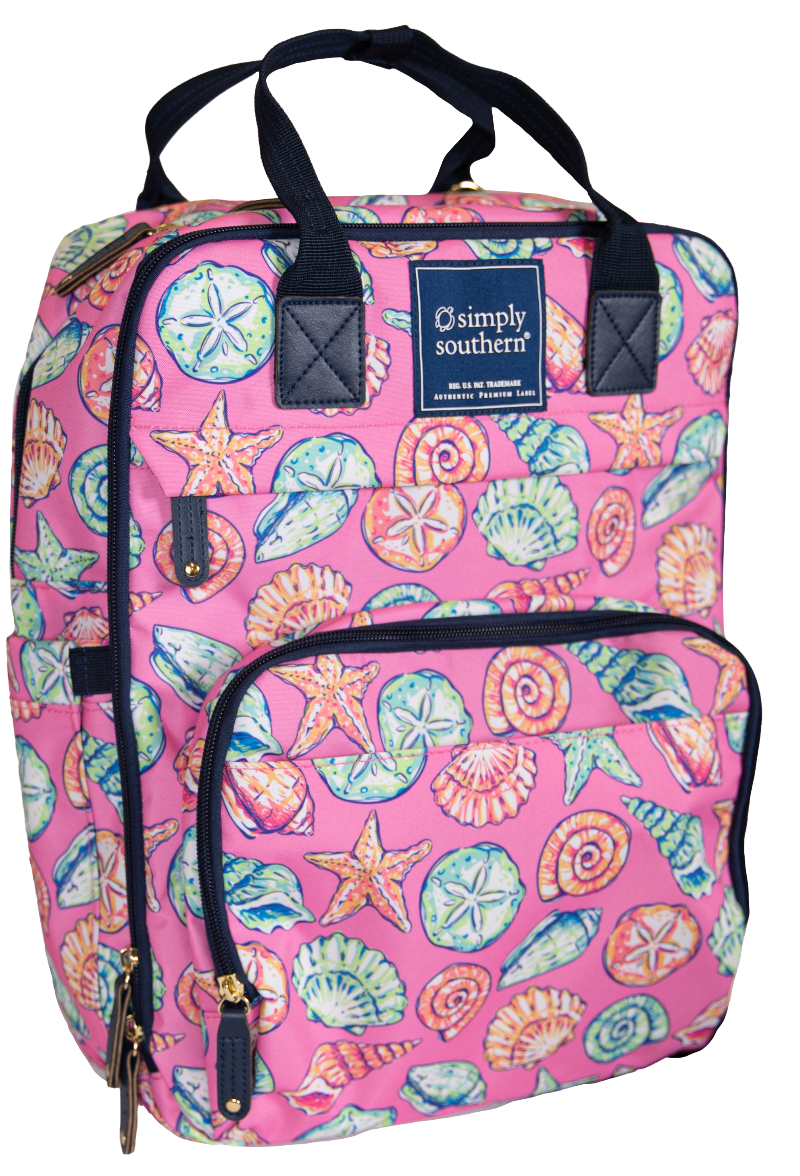 Simply Southern Shell Backpack - Monogram Market