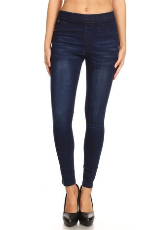 Denim Blue Jegging - Monogram Gifts