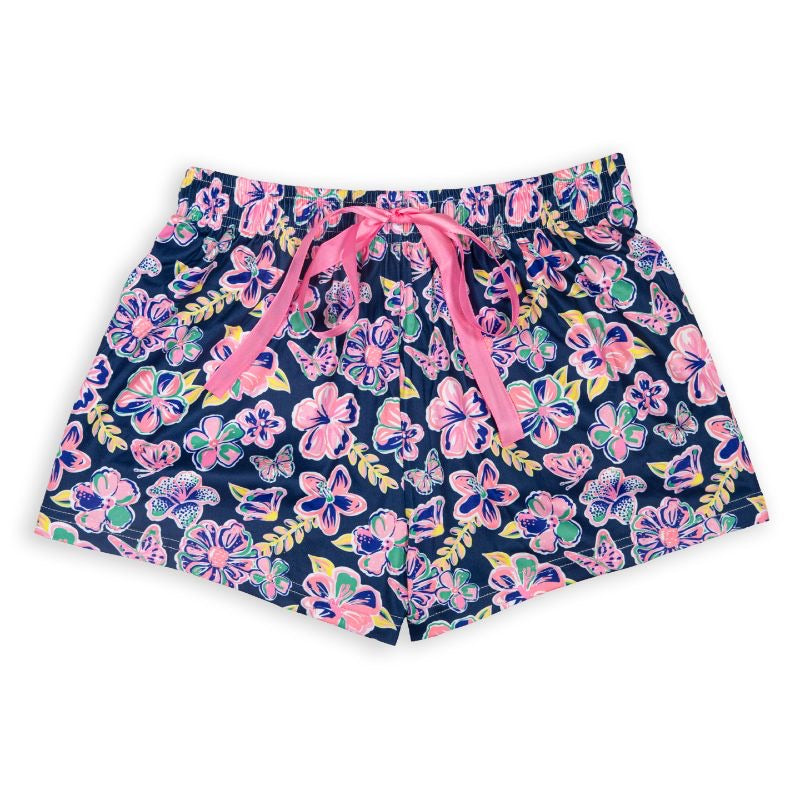 Simply Southern Lounge Shorts, Butterfly - Monogram Market