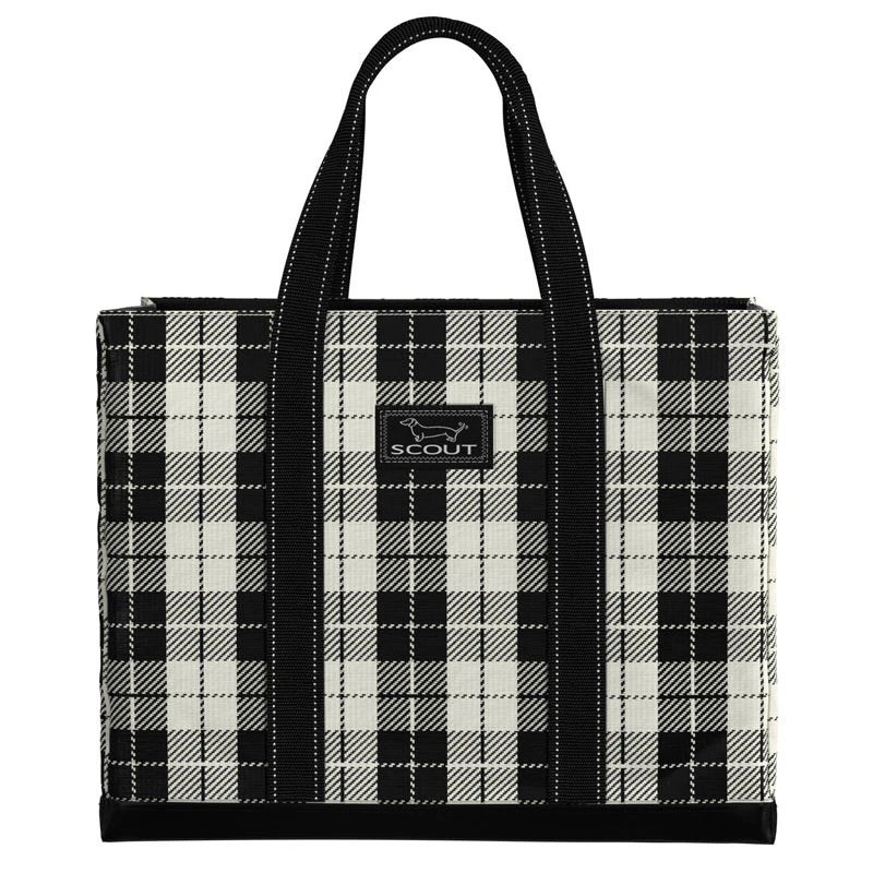 SCOUT Original Deano Tote Bag, Plaid Habit - Monogram Gifts