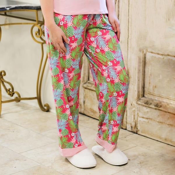 Pineapple of My Eye Sleep Pants - Monogram Market