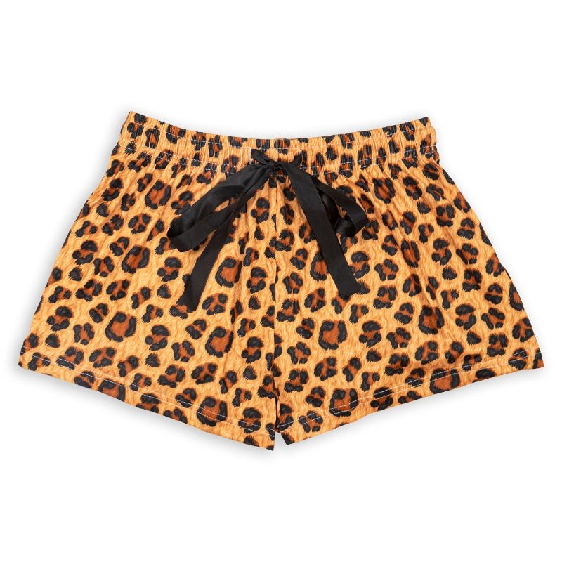 Simply Southern Lounge Shorts, Leopard - Monogram Market