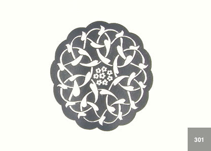 Silver Islamic Pattern (300 Series) Qty: 10
