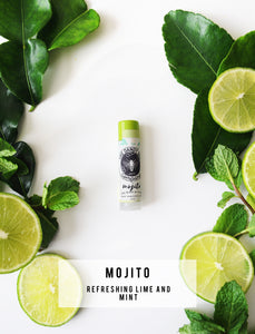 Mojito Organic Beeswax Lip Balm Two Pack