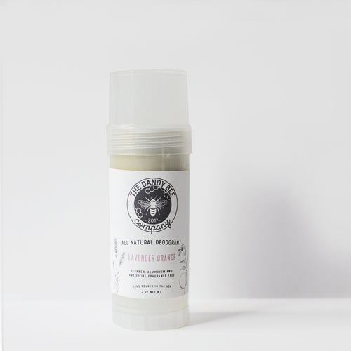 Lavender Orange All Natural Deodorant